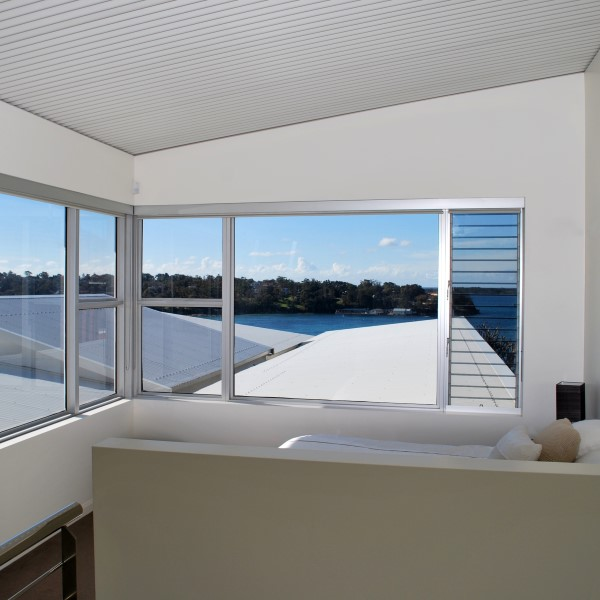Port Hacking bedroom views by vanryndesign