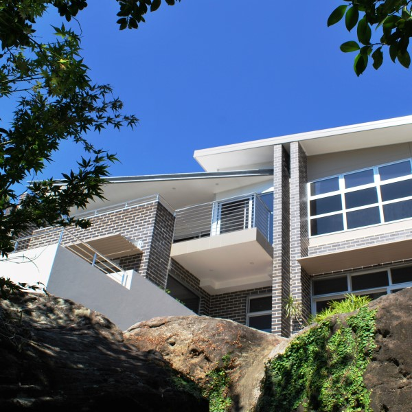 environmentally sensitive design in Yowie Bay