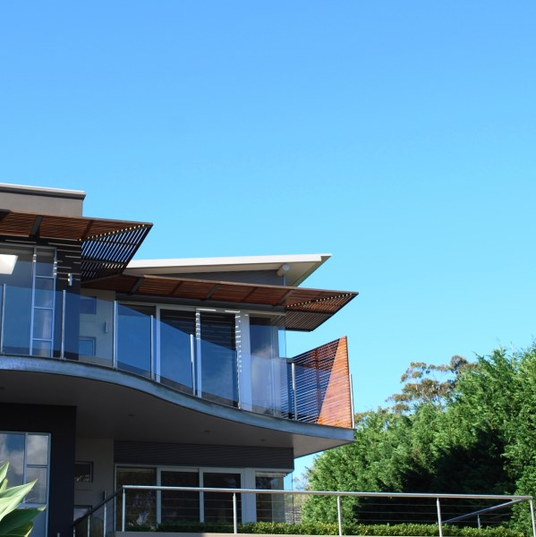 expressed steel design on the Port Hacking River