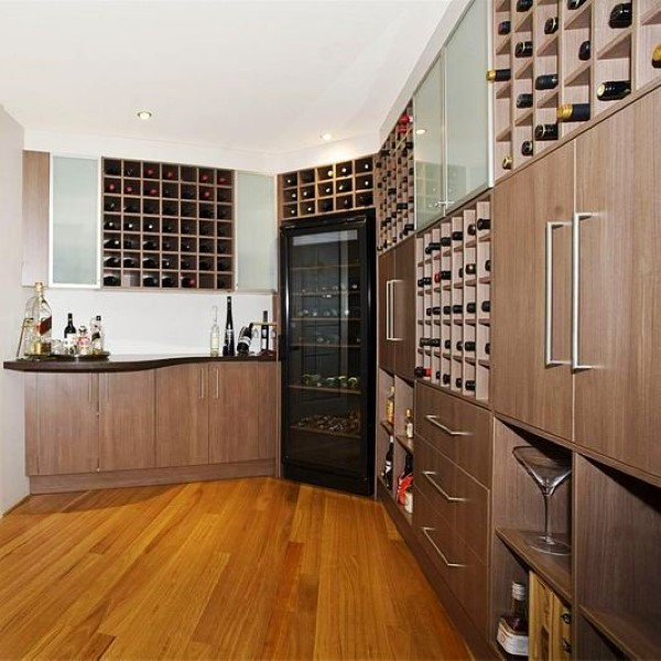 impressive wine cellar design by vanryndesign